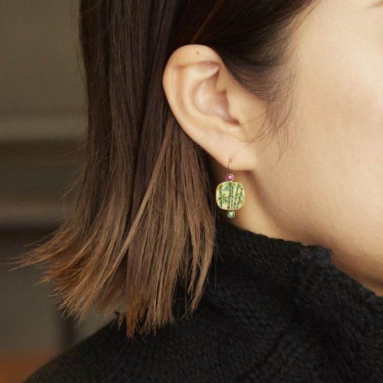 GREEN TEA / earring / S1803-001