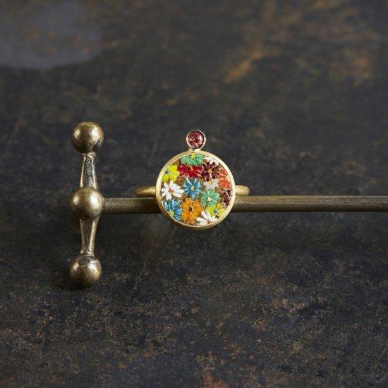 VIVID FLOWER/ring/ S1803-008