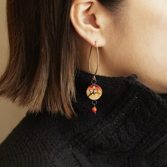 Orange Spring/earring(mono)/S1803-012