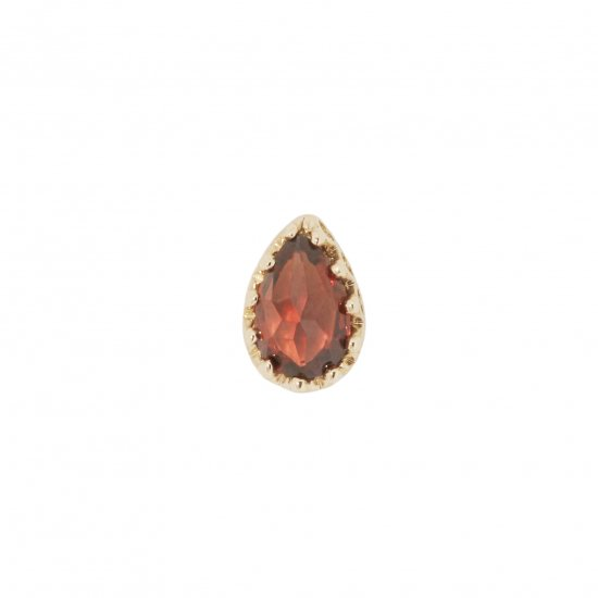 studded  Pierce Garnet/1805-011