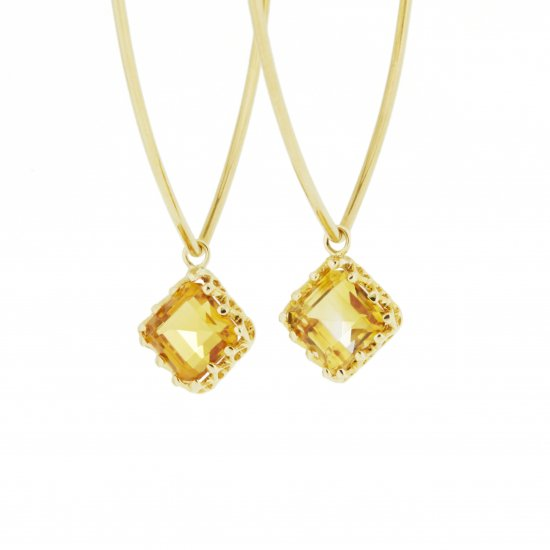 Jewel Pierce Citrin Quartz/ 1806-022