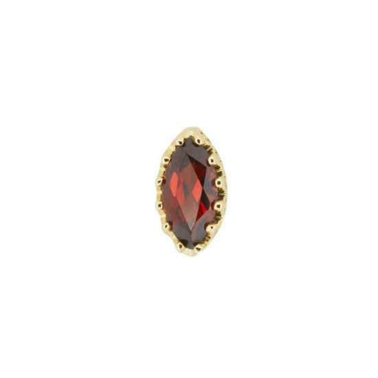 studded  Pierce Garnet/1805-014