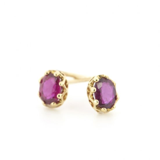 studded Pierce Ruby / 1806-002