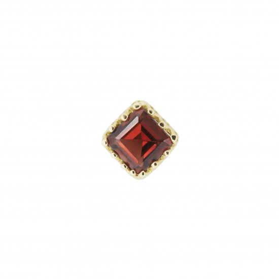 studded  Pierce Garnet/1806-021