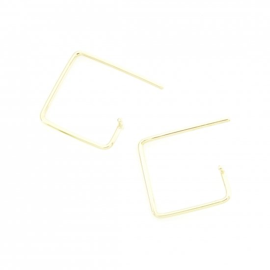 Square  Pierce-t(s) K18YG / 1806-028