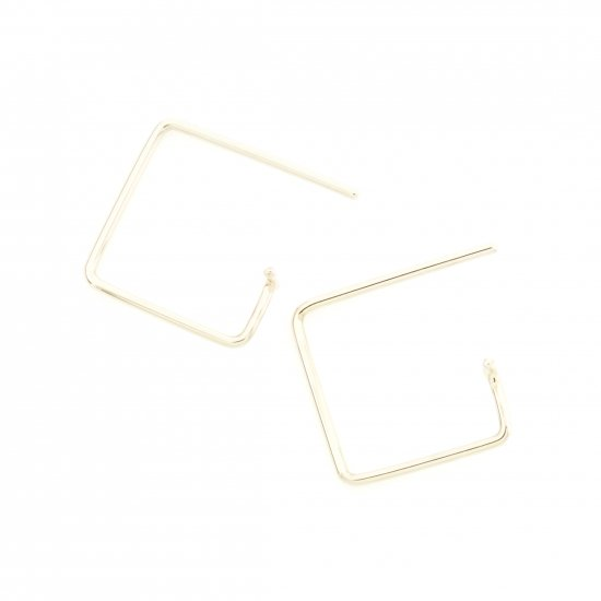 Square  Pierce-t(s) K18PG / 1806-029