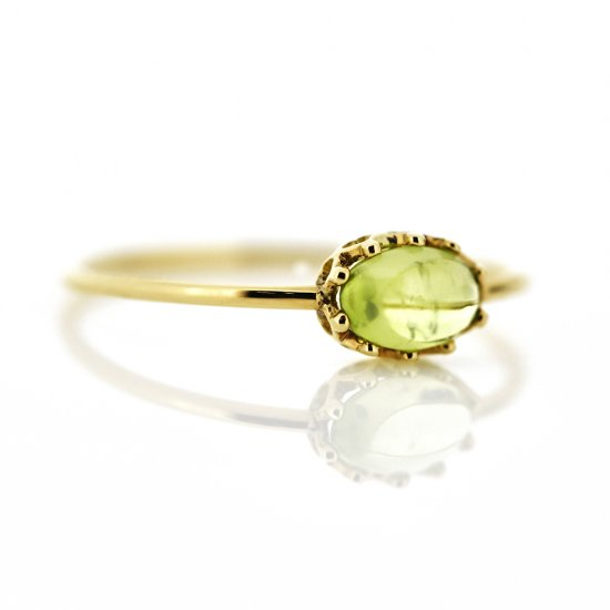 float ring Peridot / 1811-004
