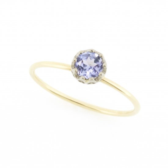 float ring Tanzanite / 1811-007