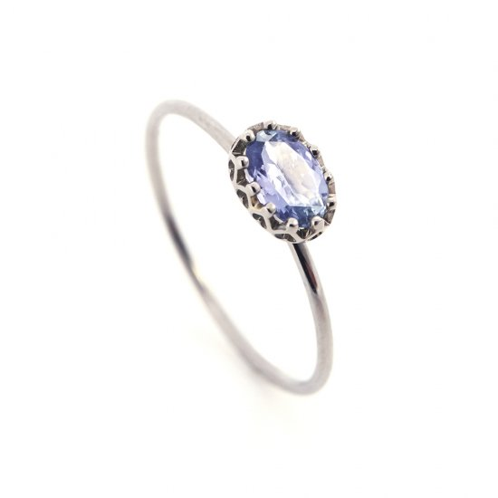float ring Tanzanite / 1811-008