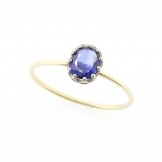 float ring Sapphire / 1811-019