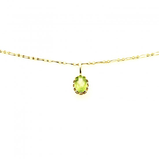 float charm Peridot / 1811-022