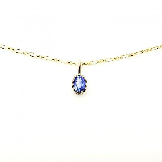 float charm Sapphire/ 1811-023