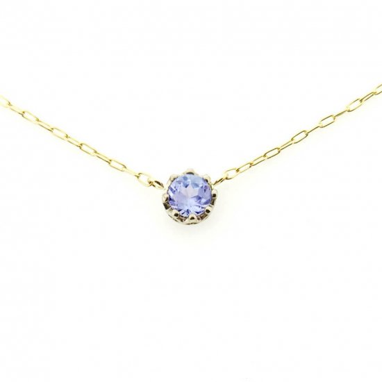 float necklace Tanzanite/ 1811-027