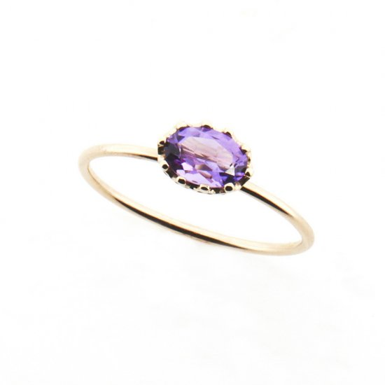float ring Amethyst /1812-002