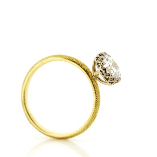 float Diamond cool ring / 1902-001