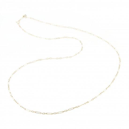 oblong necklace (long) / 1902-012