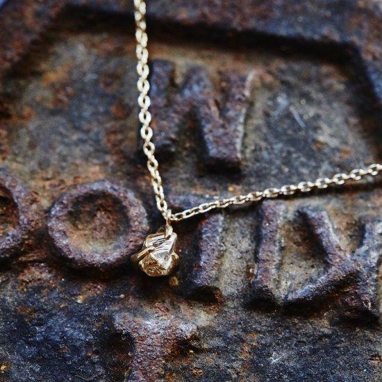 rough diamond necklace/1903-007