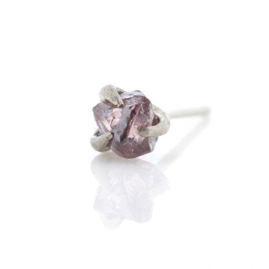 rough pink diamond studded pierce/1903-012