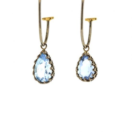 Jewel Pierce parts ( Aquamarine ) / 1903-023