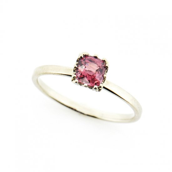 float flat ring pink Spinel/ 1904-011