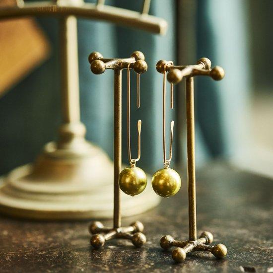 pierce parts ( pistachio pearl ) / 1906-001