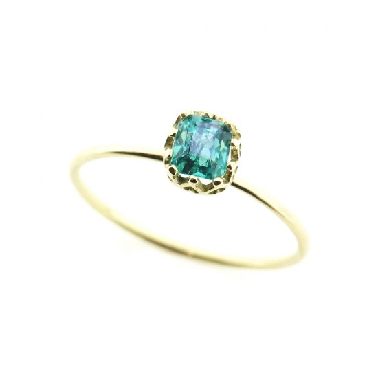 float ring Emerald / 1907-006