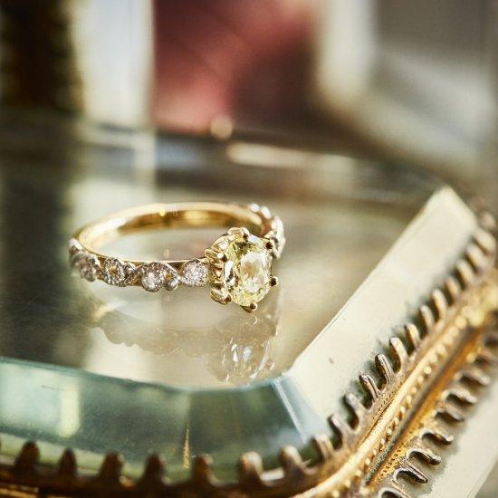 Artline Old Europian Diamond Ring / V1908-005