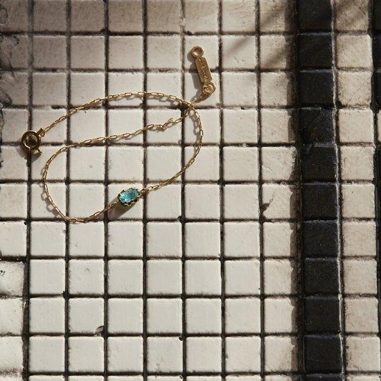 float Paraiba tourmarine bracelet/1908-015