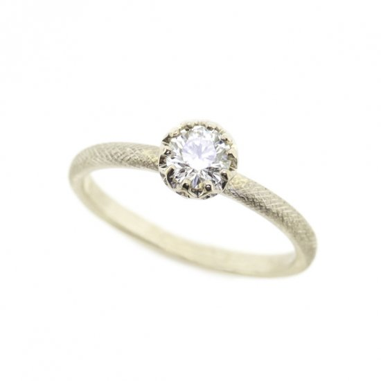 float Diamond cool ring / 1909-007