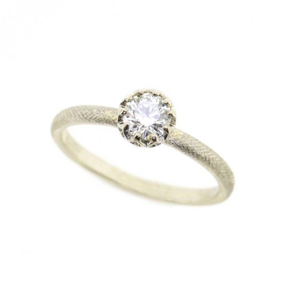 float Diamond cool ring / 1909-007
