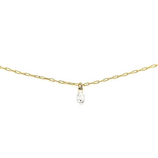 skin diamond necklace / 1910-001