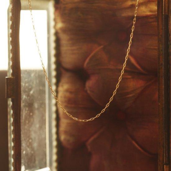 K18YG necklace(S)/1910-018