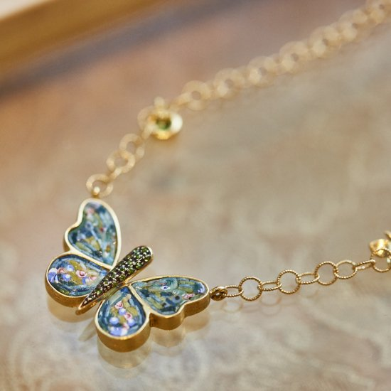 MARIPOSA / pendant & necklace / S1911-001