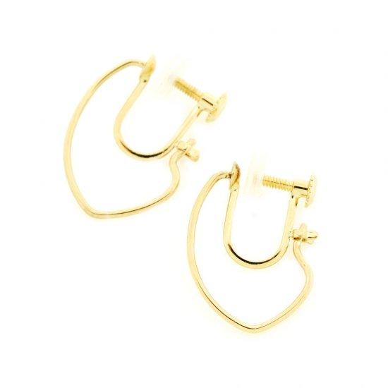 Marquis Hoop  Earrings(ss) K18YG / 1912-017