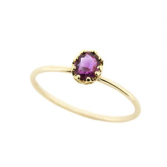float ring Ruby / 1912-026
