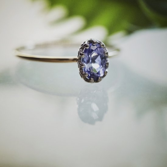 float ring Tanzanite / 1912-035