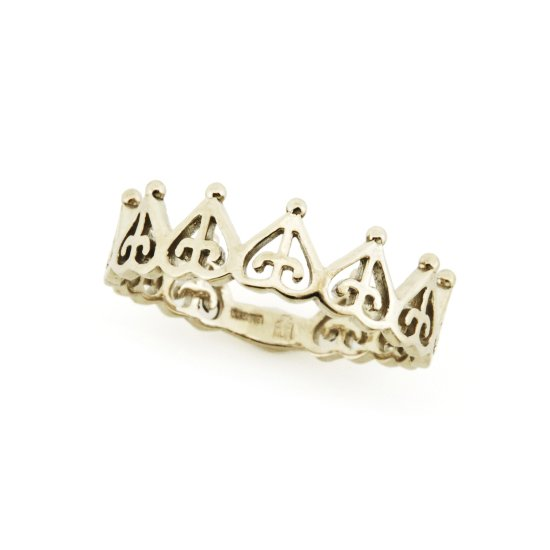 ORDER crown pinky ring K18WG