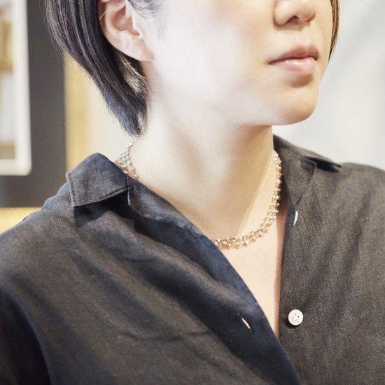 Euco akoya KESHI Necklace/line_nc_SVAK