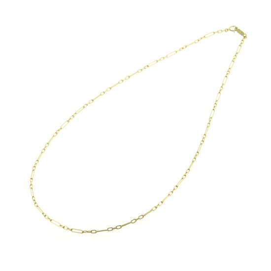 Order oblong necklace(K18CWG)