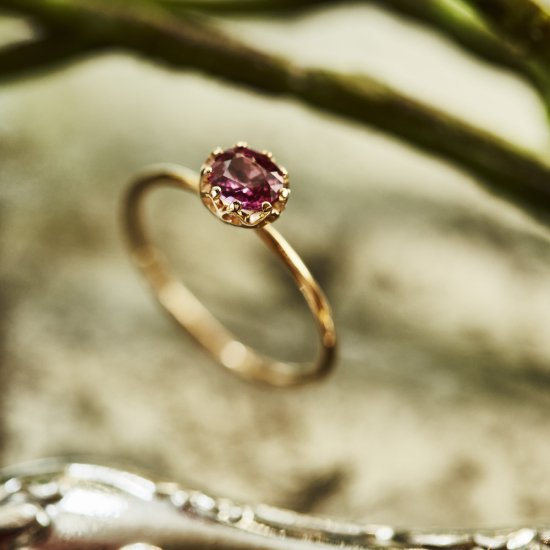 float ring Ruby / 2007-009