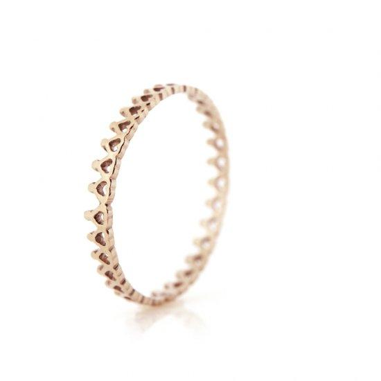 crown pinky ring mini PG / 2009-012