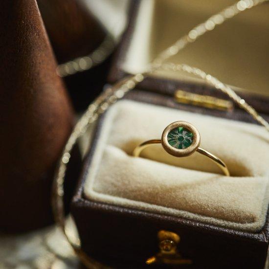 Trapiche Emerald materio ring/2105-004