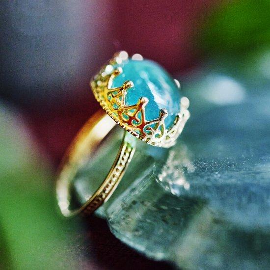 Jewel Ring Grandidierite / 2107-005