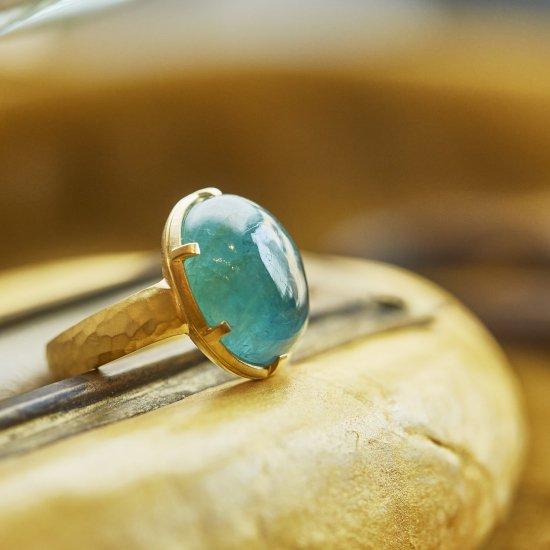 Cut Down  Ring  Grandidierite/2107-022
