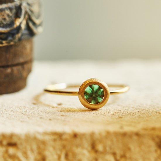 Trapiche Emerald materio ring/2108-007