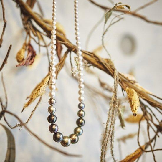 Tahichian pearl necklace/2109-006