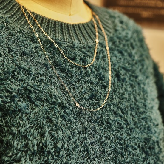 Rose cut  w Diamond Necklace CWG/2110-004