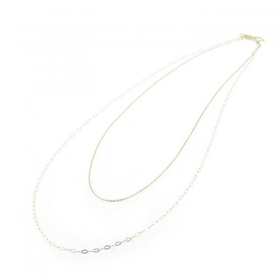 long w face Necklace CWG/2110-005