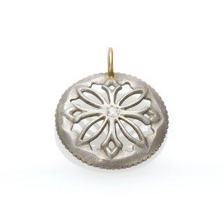 Diamond Charm(Silver/K18YG )/1211-009