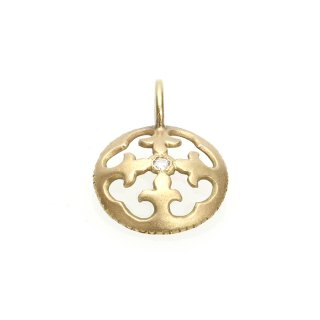 Diamond Charm(K18YG)/1211-010